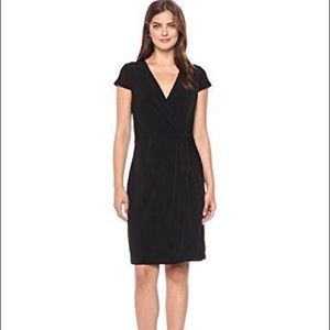 Tiana B Faux Wrap Dress